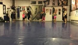 Kickboxen groep Tjalk