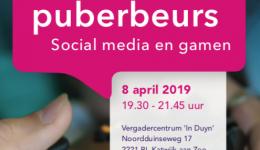 CJG organiseert: Puberbeurs social media en gamen